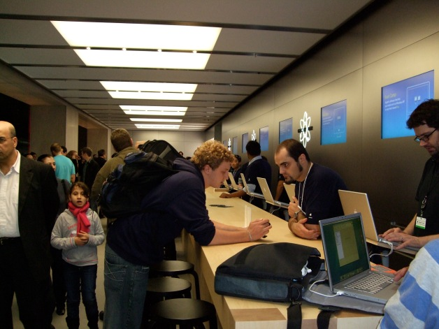 Dave at the Genius Bar
