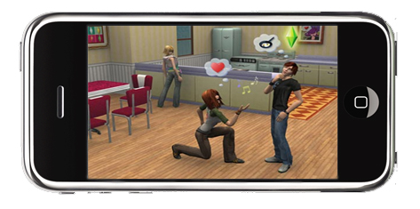 iPhone The Sims 3